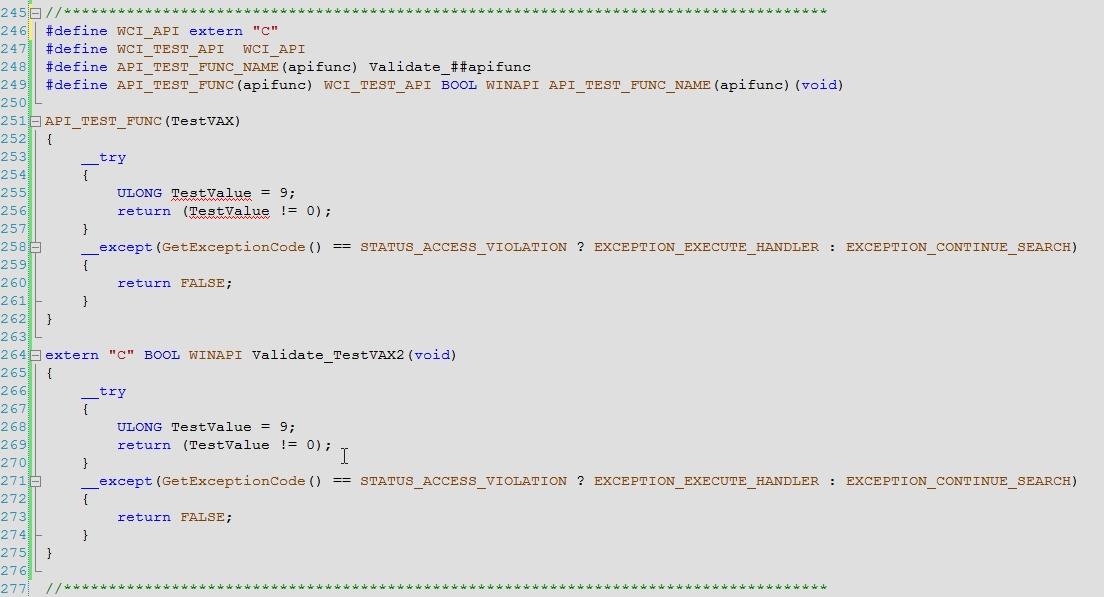 C Macro substitution example